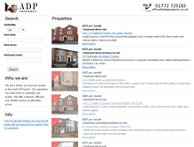 Tablet Preview of adpproperty.co.uk
